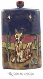 Mara Stoneware 44oz Tall Rectangular Decanter - Coyote-Out of Stock Until 08-14-19