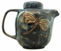 Mara Stoneware 44oz Teapot - Dragonfly-Out of Stock Until 01-07-20