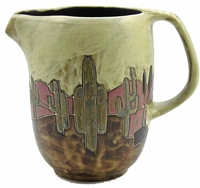 Mara Stoneware 48oz  Serving Pitcher - Desert