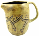 Mara Stoneware 48oz  Serving Pitcher - Grapevines