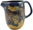 Mara Stoneware 48oz  Serving Pitcher - Horses