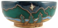 Mara Stoneware 72oz Serving Bowl - Mountain