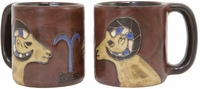 Mara Stoneware Zodiac Coffee  Mugs - Aries