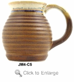 Padilla Stoneware Jug Mug 16oz Set of Four - Tree Optional