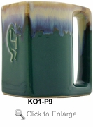 Padilla Stoneware Kokopelli Mug 12oz Set of Six - Tree Optional