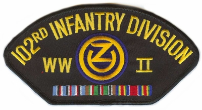 102nd Infantry Division WWII Patch