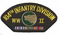 104th Infantry Division WWII Hat Patch