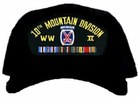 10th Mountain Division WWII Ball Cap