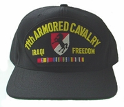 11th Armored Cavalry OIF Ball Cap