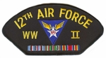 12th Air Force WWII Patch