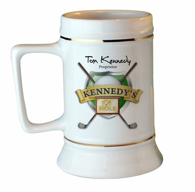 19th Hole Collectors Stein