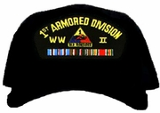 1st Armored Division WWII Ball Cap