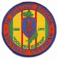 1st Aviation Brigade Vietnam Veteran Patch
