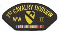 1st Cavalry Division WWII Hat Patch