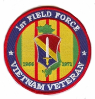 1st Field Force Vietnam Veteran Patch