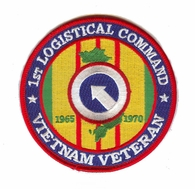 1st Logistical Command Vietnam Veteran Patch