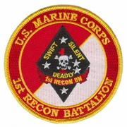 1st Recon Battalion Patch