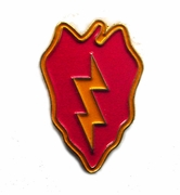 25th Infantry Division Pin
