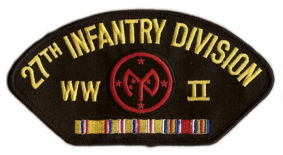 27th Infantry Division WWII Hat Patch