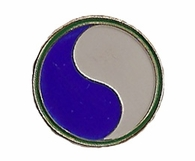 29th Infantry Division Pin