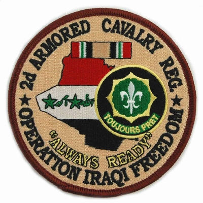 2nd Armored Cavalry Regiment Operation Iraqi Freedom Patch