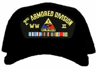 2nd Armored Division WWII Ball Cap