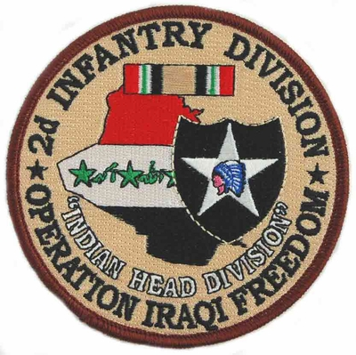 2nd Infantry Division Operation Iraqi Freedom Patch