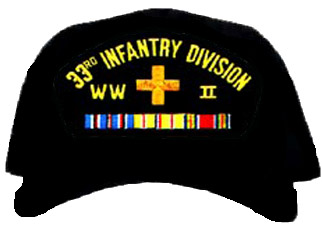 33rd Infantry Division WWII Ball Cap
