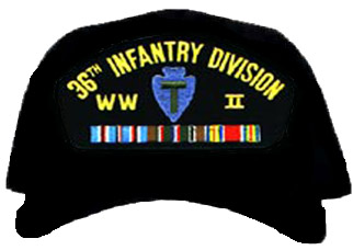 36th Infantry Division WWII Ball Cap