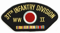 37th Infantry Division WWII Patch