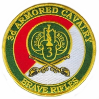 3rd Armored Cavalry Patch with Sabres