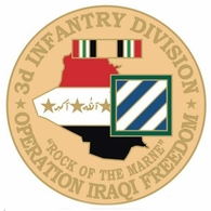 3rd Infantry Division Operation Iraqi Freedom Pin