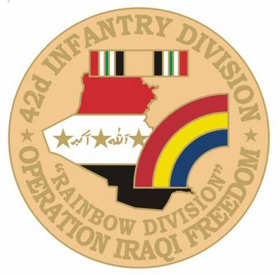 42nd Infantry Division Operation Iraqi Freedom Pin