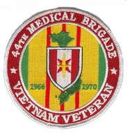 44th Medical Brigade Vietnam Veteran Patch