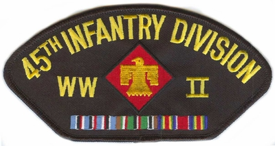 45th Infantry Division WWII Hat Patch