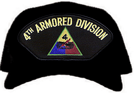 4th Armored Division Ball Cap