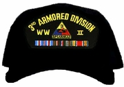 4th Armored Division WWII Ball Cap