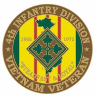 4th Infantry Division Vietnam Veteran Pin