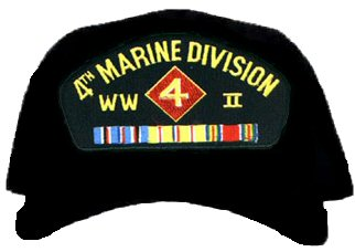 4th Marine Division WWII Ball Cap