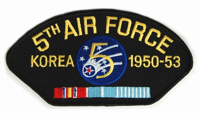 5th Air Force Korea Patch