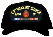 63rd Infantry Division WWII Ball Cap