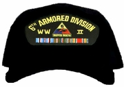 6th Armored Division WWII Ball Cap