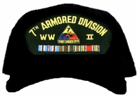 7th Armored Division WWII Ball Cap