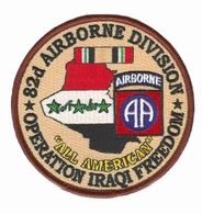 82nd Airborne Division Operation Iraqi Freedom Patch