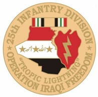 82nd Airborne Division Operation Iraqi Freedom Pin