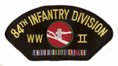 84th Infantry Division WWII Hat Patch