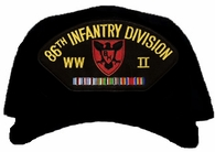 86th Infantry Division WWII Ball Cap