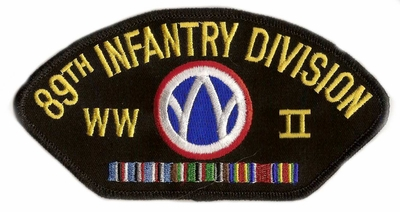 89th Infantry Division WWII Patch