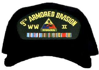 9th Armored Division WWII Ball Cap