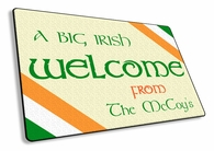 A Big Irish Welcome - Welcome Mat
